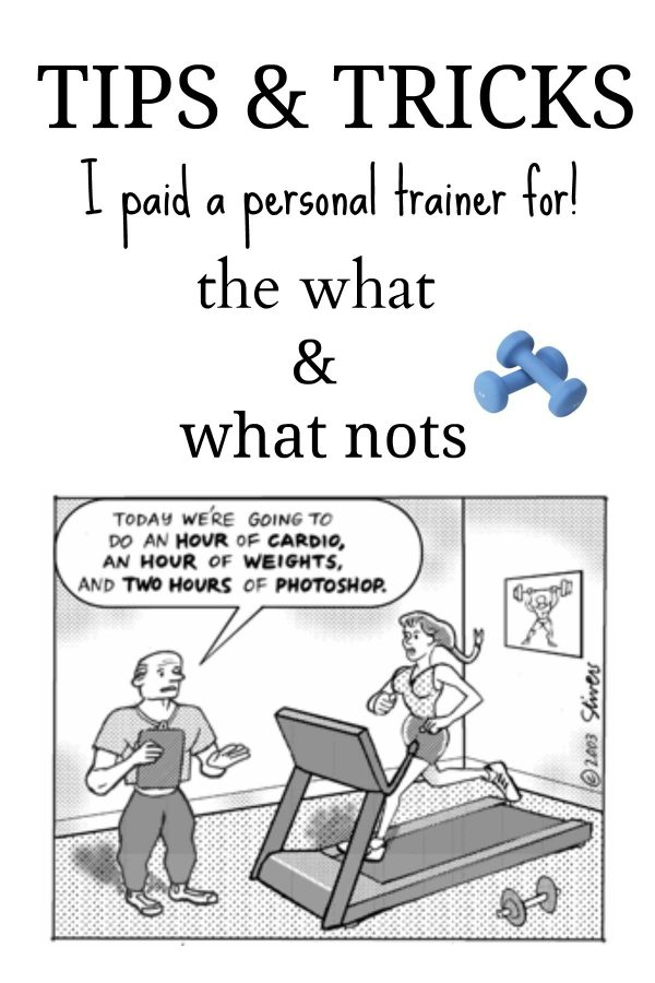 What I learned from my personal trainer