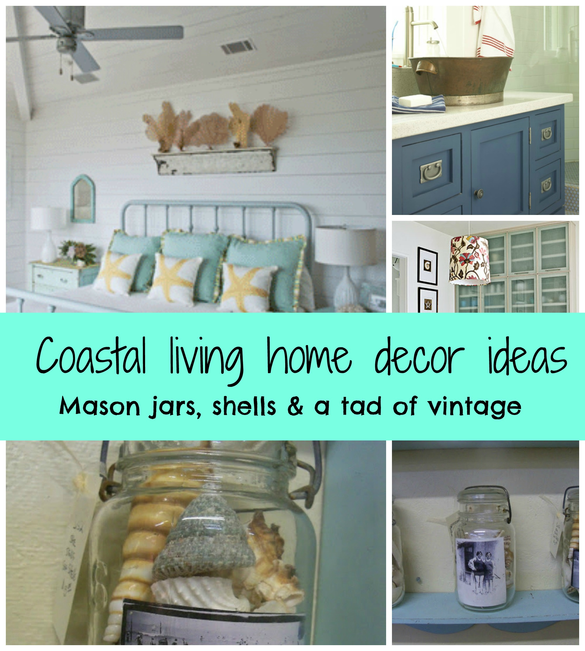 Coastal living nifty decor ideas debbiedoos for Living decor ideas