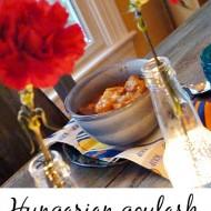 How to make Hungarian goulash
