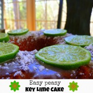 Key lime cake recipe from a cake mix