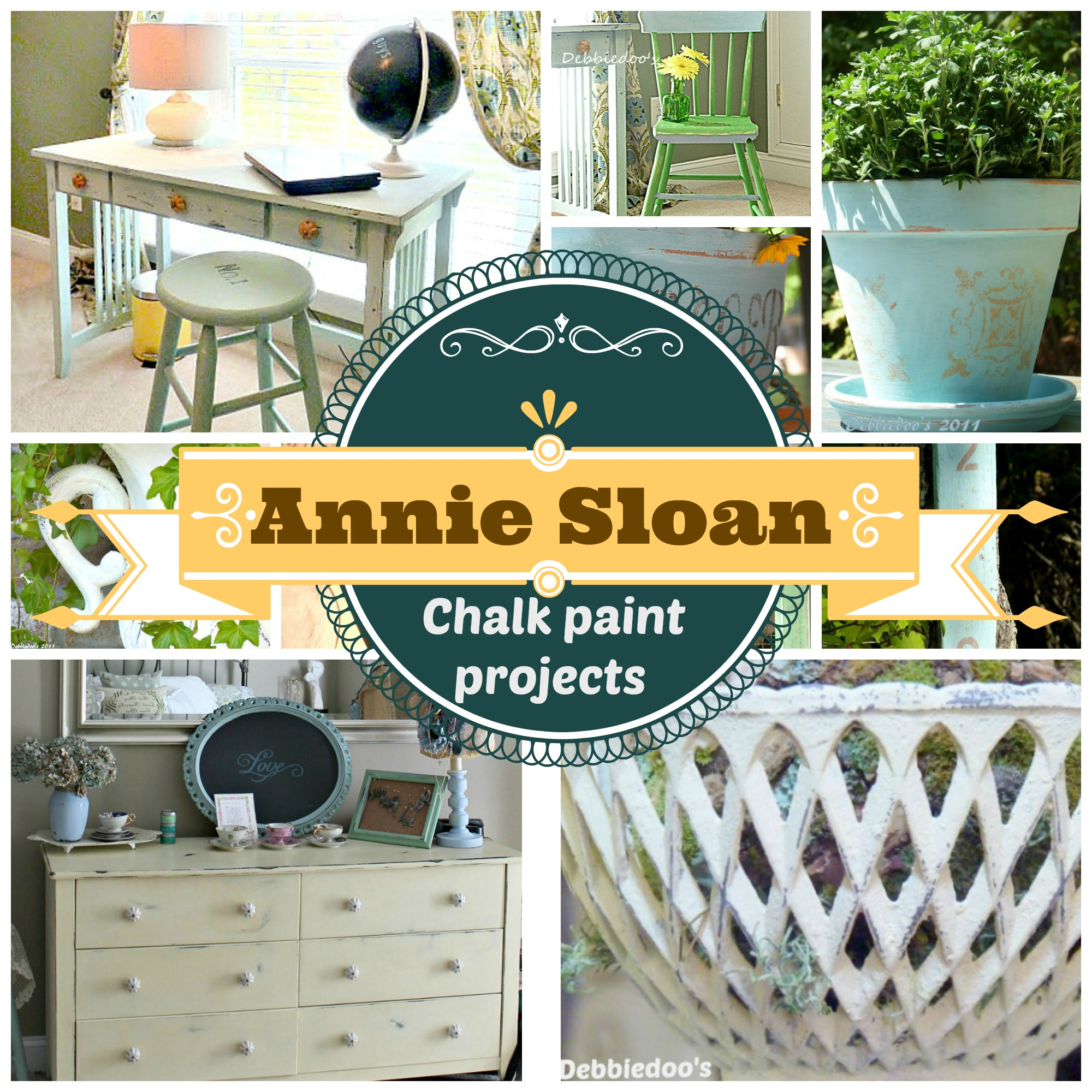 Annie Sloan chalk paint projects