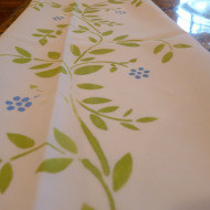 hand painted napkins