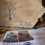 Wood Pallet Fall craft on the cheap!