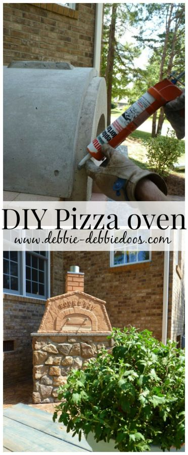 DIy outdoor pizza oven and tips on how to create your own. #roundboy