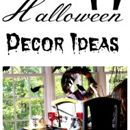 Halloween decor ideas and more