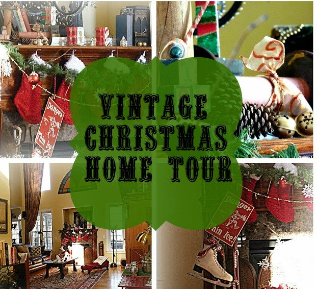 Decorating Ideas > A Vintage Christmas Home Tour 2011  Debbiedoos ~ 165708_Christmas Decorations Home Tour