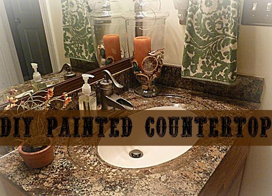 Diy Painted Countertops Using Giani Granite Paint Kit