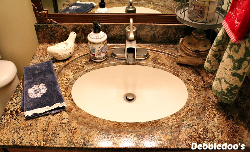 giani bathroom counter top