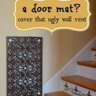 repurposed door mat