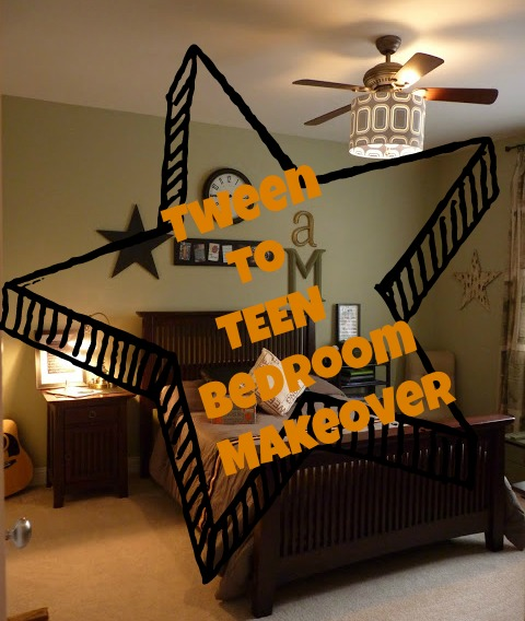 Teen boys bedroom makeover! - Debbiedoo's
