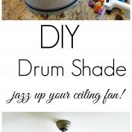 diy drum shade