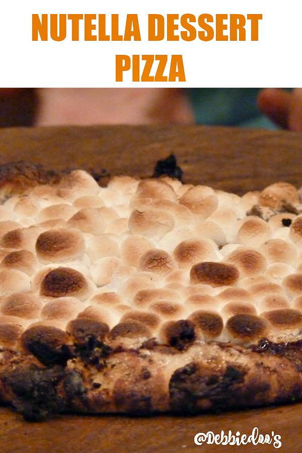 How to make Nutella dessert pizza