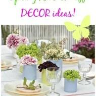 Spring knock off decor ideas