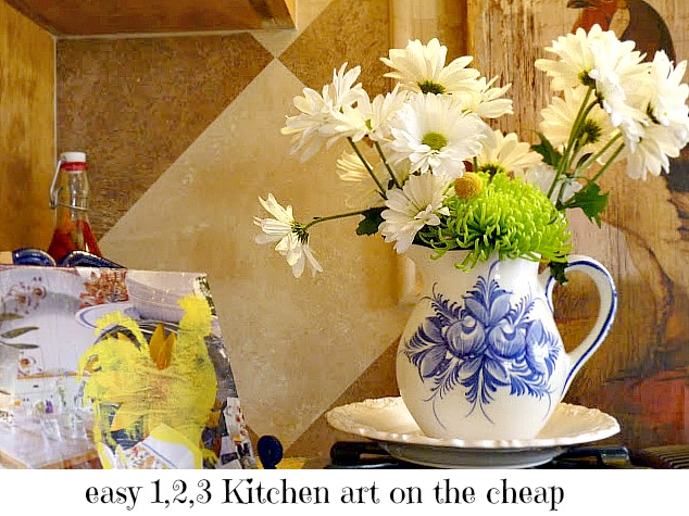 easy budget friendly kitchen art
