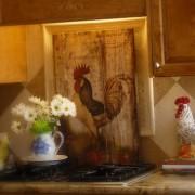 Mod podge kitchen {diy} art on canvas