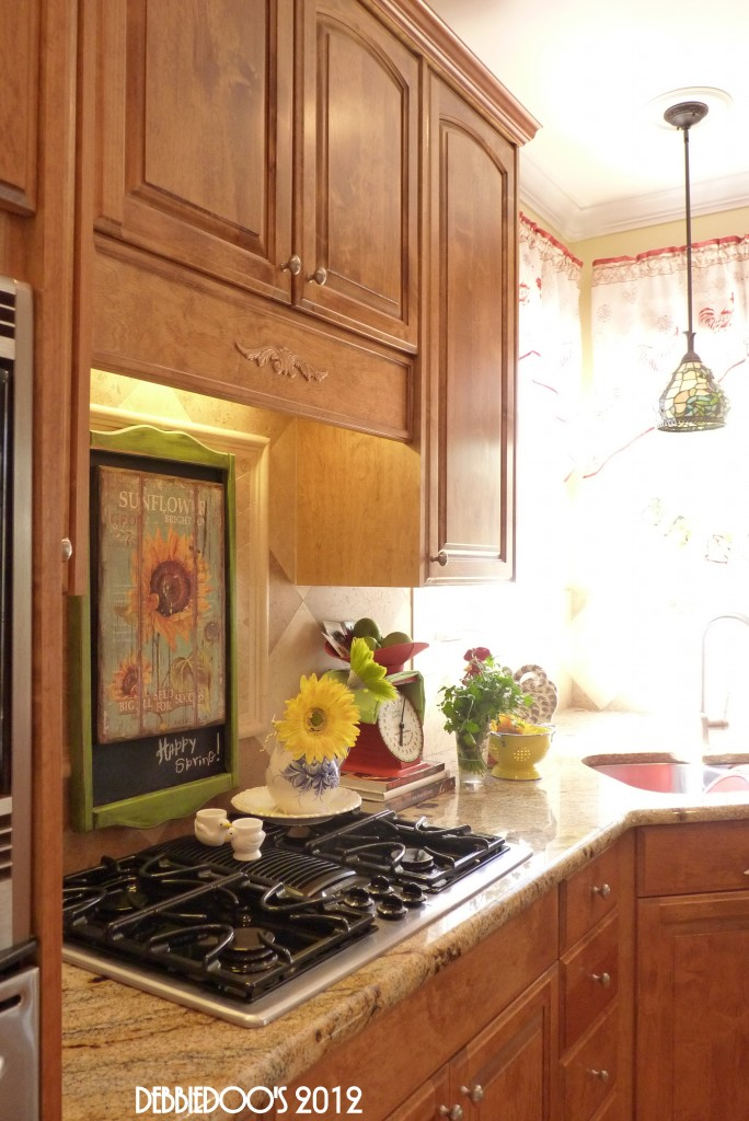 Old Time Country Look Kitchen Back Splash