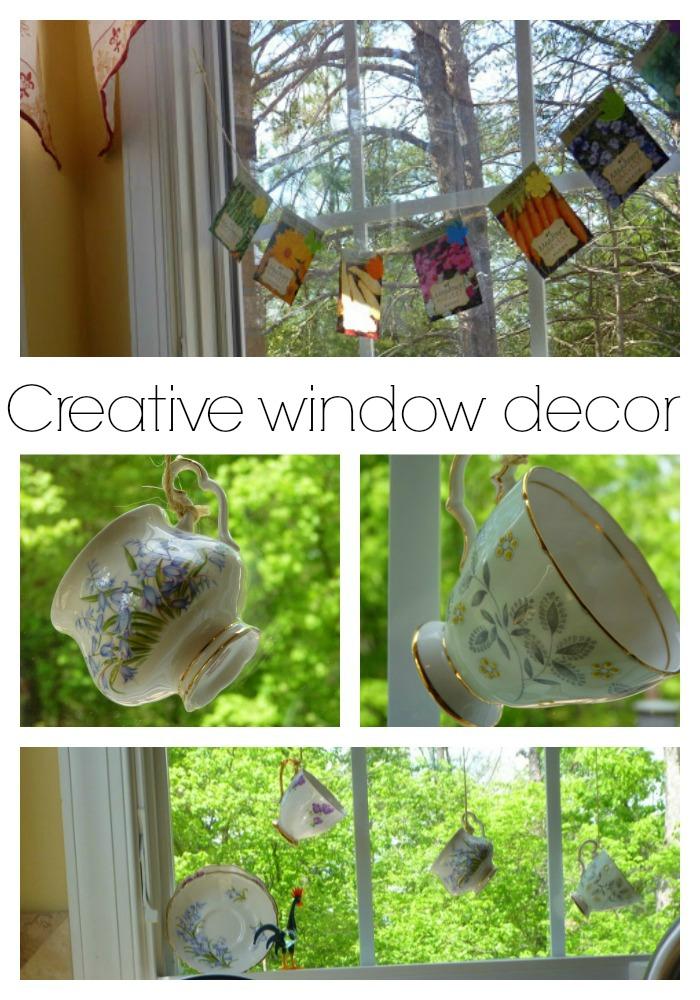 creative window decor