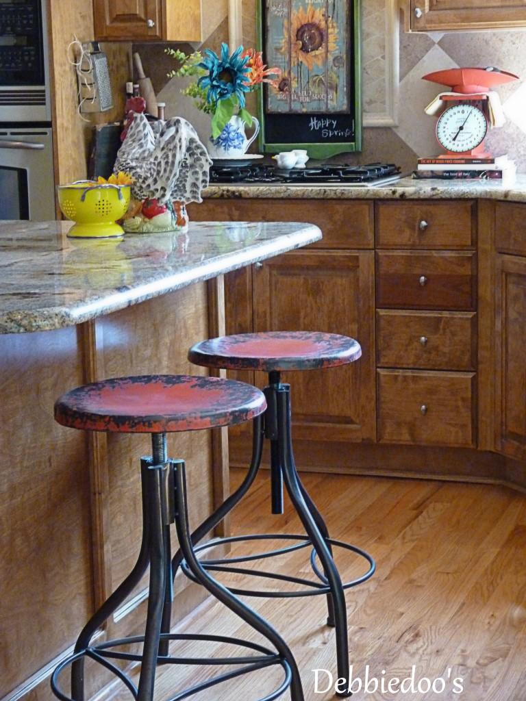 Antique Bar Stools Vintage Wood Metal Bar Stools Vintage