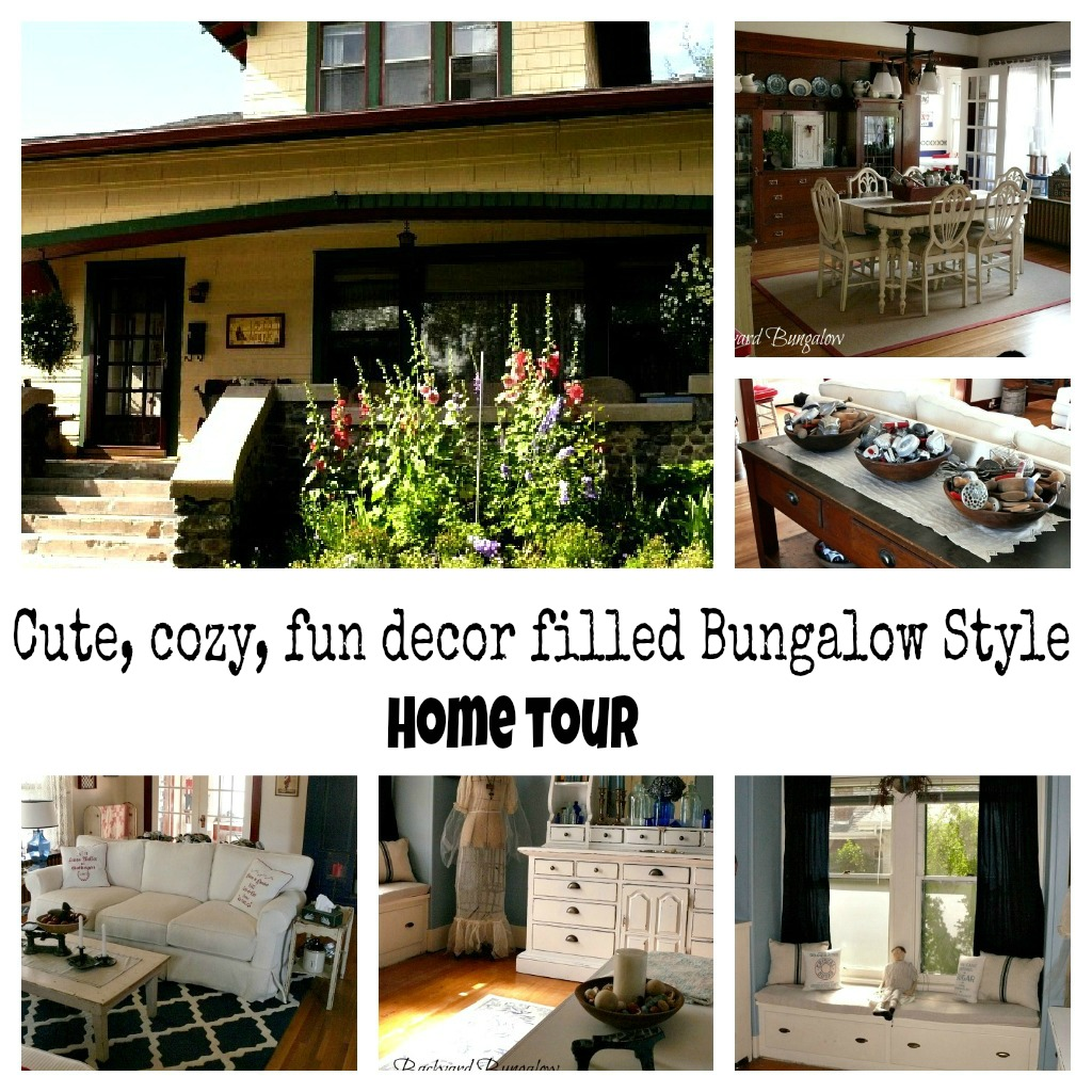 Bungalow style home tour