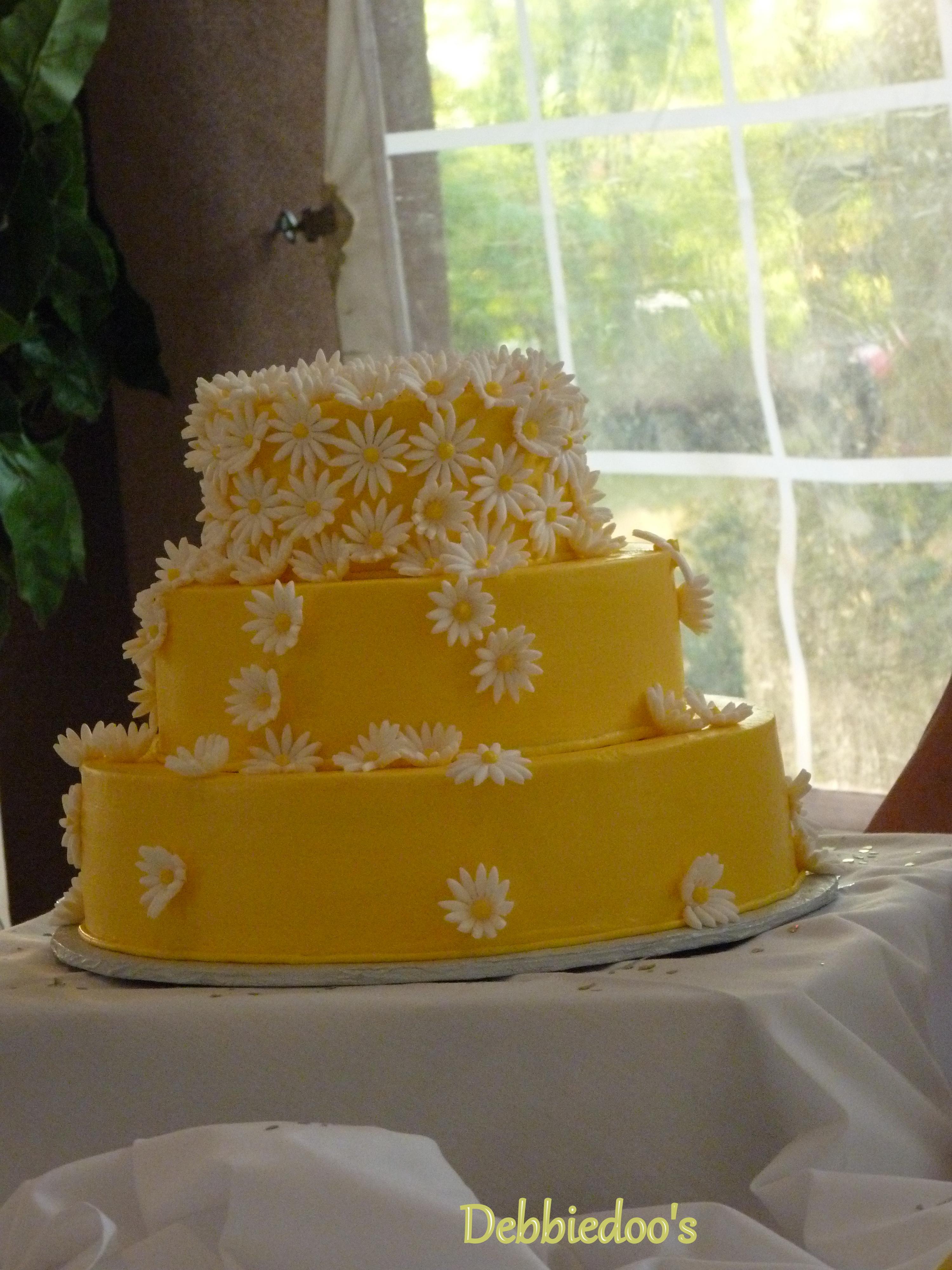Martha Stewart inspired wedding cake