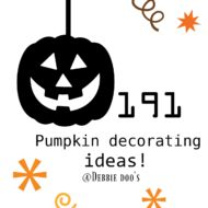 Shabby chic pumpkins, funkins and more
