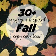 30+Fall Knock off decor ideas