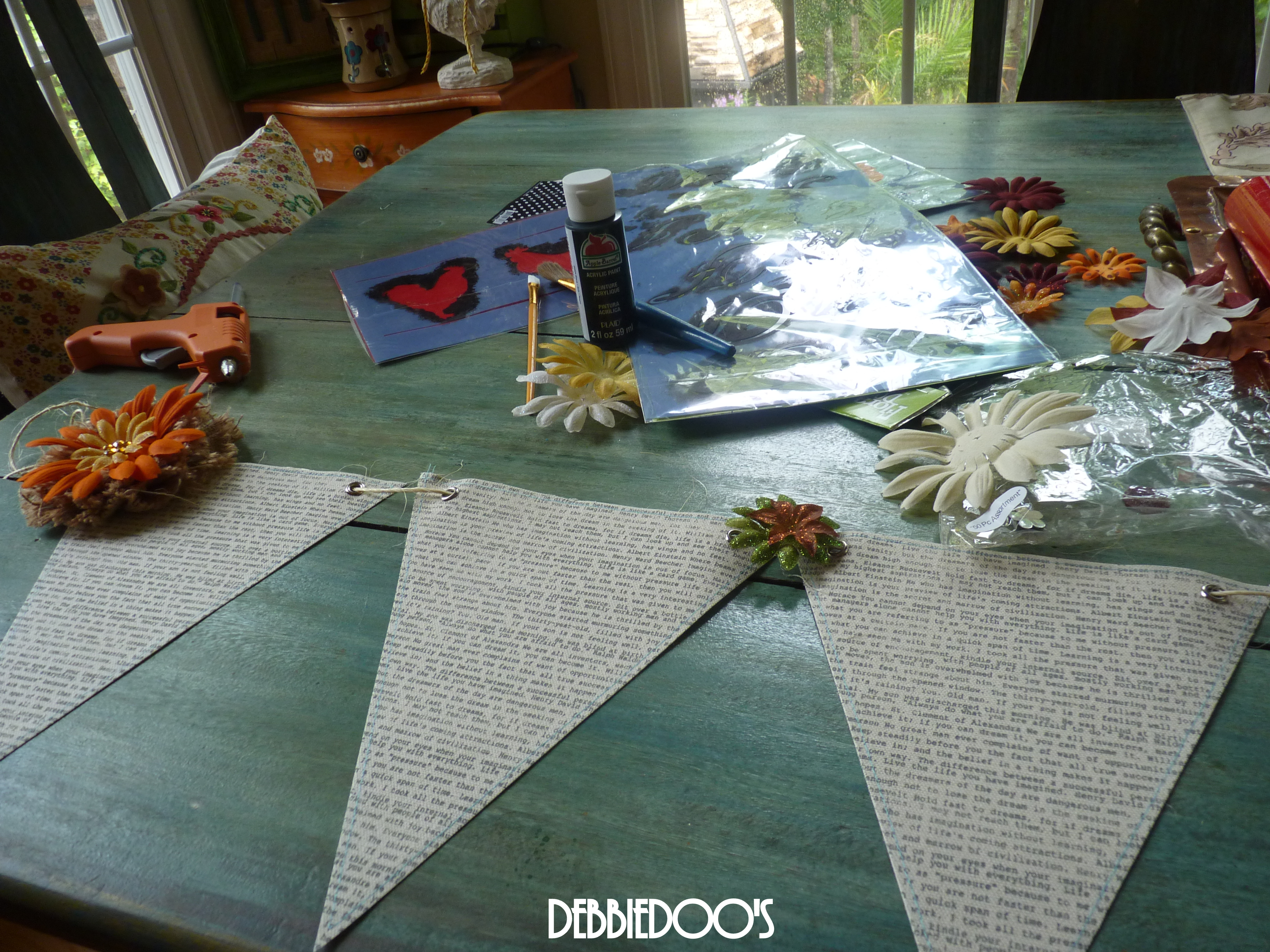 diy Scripted fall banner
