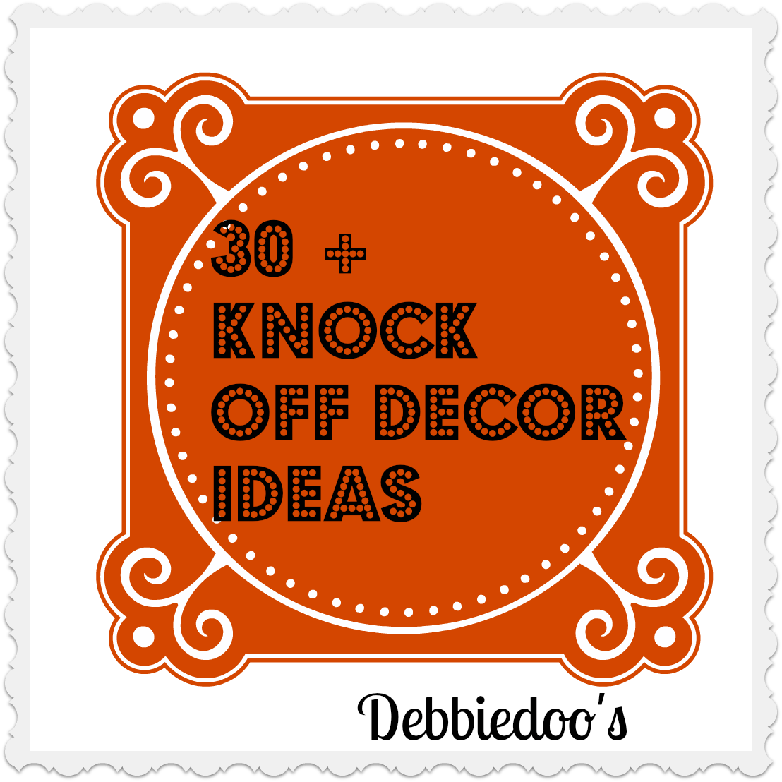 30 plus ideas for knock off decor