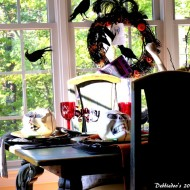 Halloween decorating ideas and Halloween tablescapes to inspire