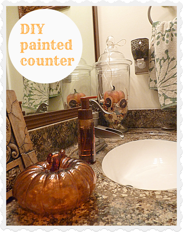 Guest-bath Carolina Fall home tour {October fest of fun party up}