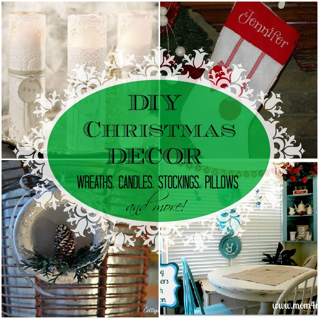 Christmas-collage Christmas decorating ideas, ornaments, wreaths, diy projects