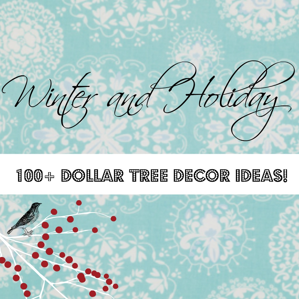 Dollar Tree Christmas Decor And Gift Ideas: Dollar Tree Christmas Crafts, Decor And More!