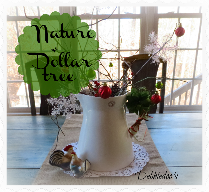 nature-and-dollar Holiday decorating on a budget