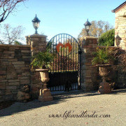 new gate entrance