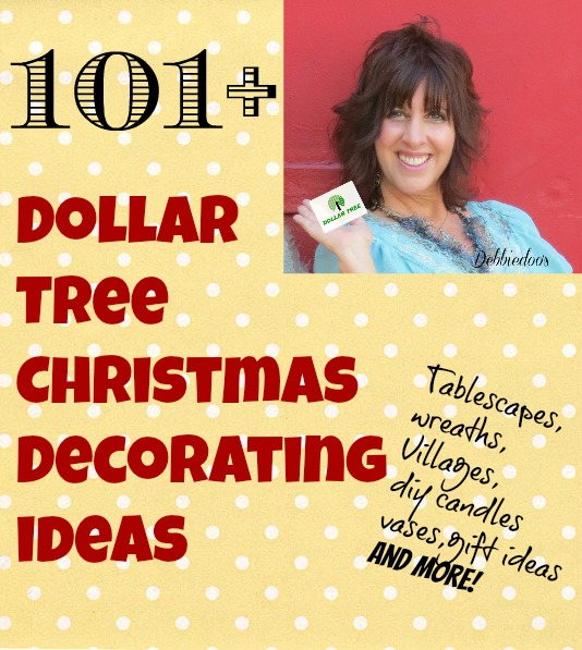 The best of the best for a buck   100 Dollar tree Christmas decor tlVLqS1v