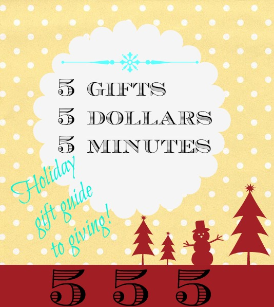 5 Holiday gift giving guide on a budget