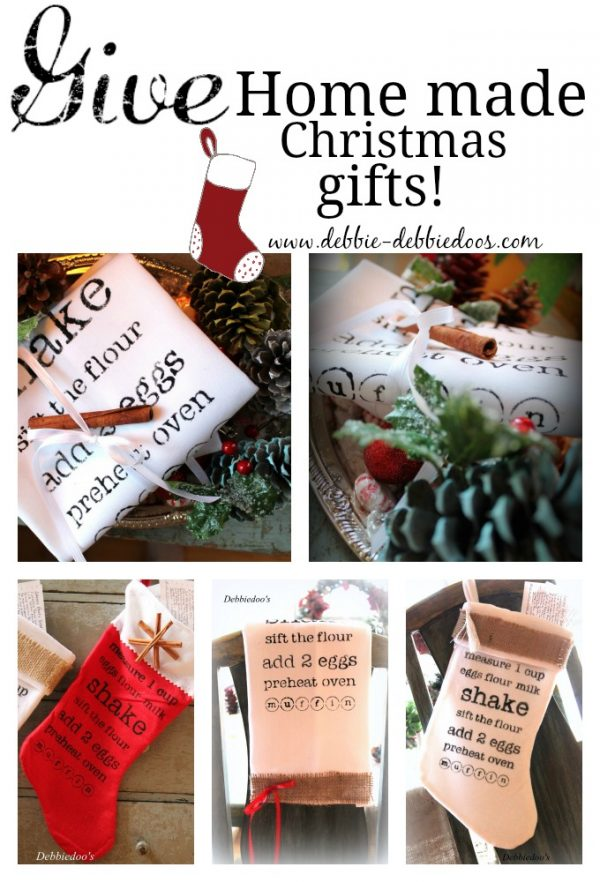 Home made Christmas gifts from dollar tree