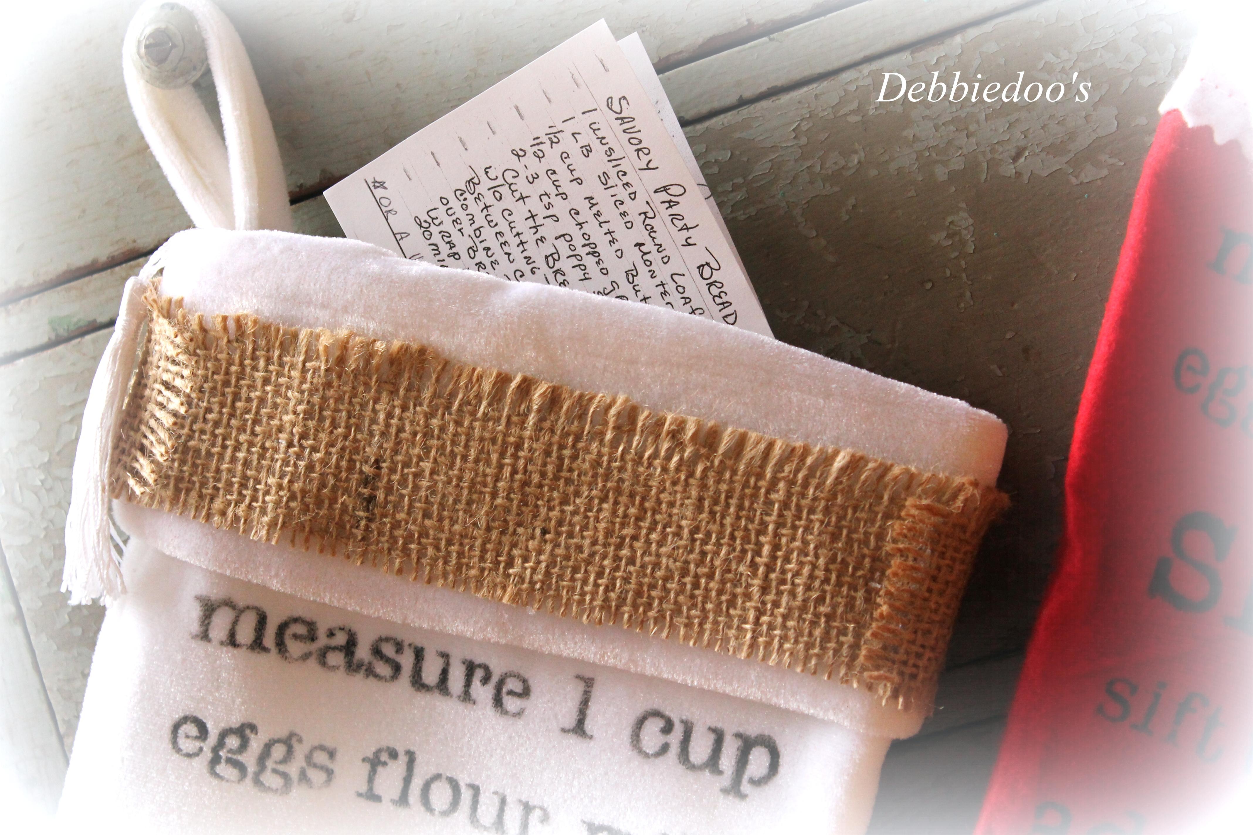 recipe stocking gift idea