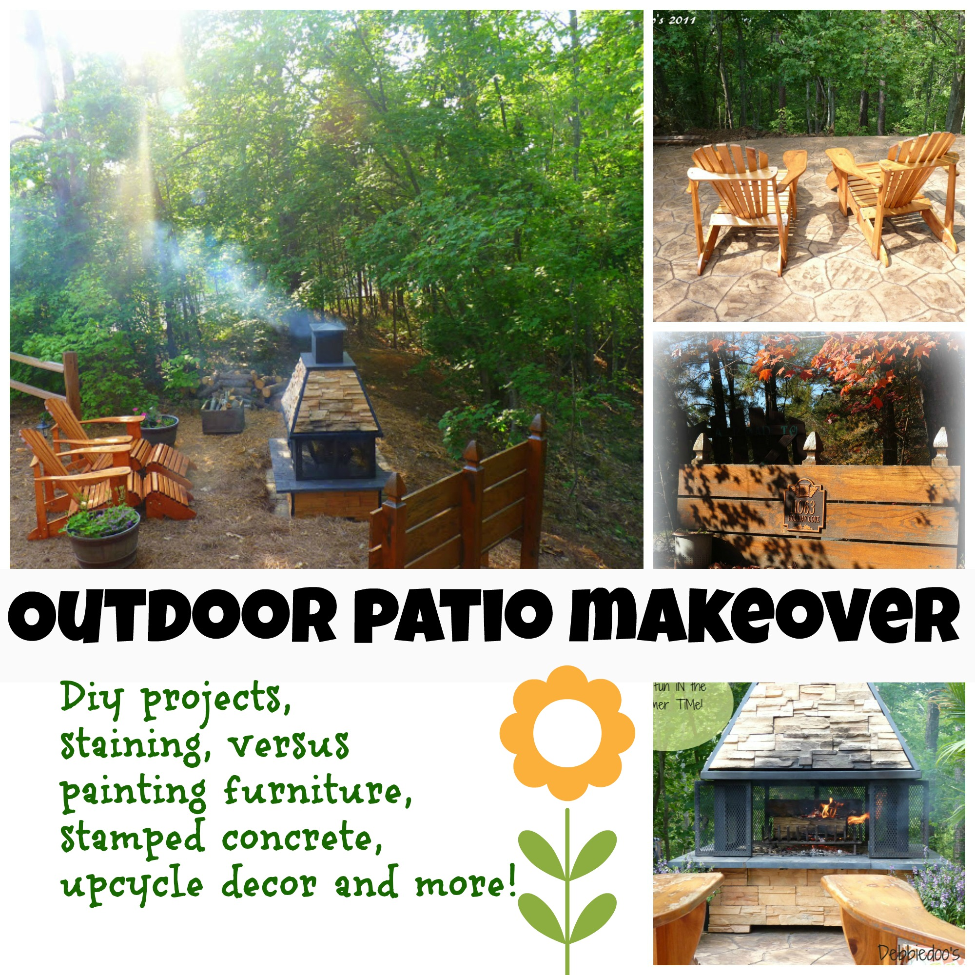 Outdoor patio makeoever