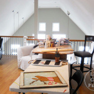 Art Studio Upstairs LakeHouse