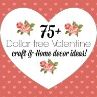 All things Dollar tree Valentine's decor and crafts