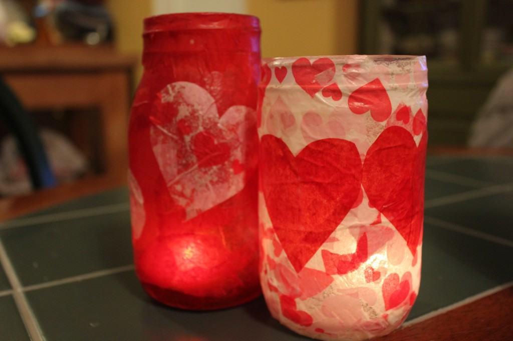 Valentines Mod Podge Diy Craft Ideas Debbiedoos