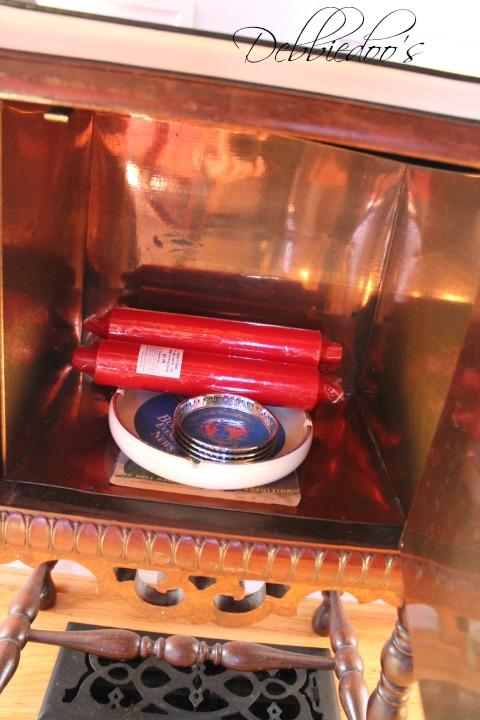 copper smoke stand