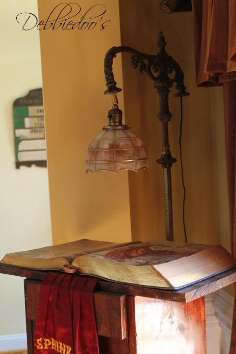Vintage tiffany light