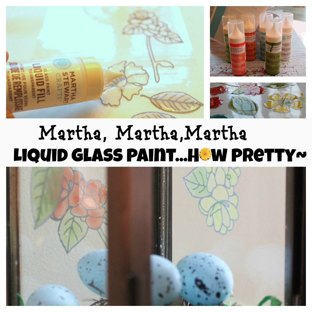 PicMonkey-Collage6 Martha Stewart Crafts {Glass paint liquid fill pretty craft project}