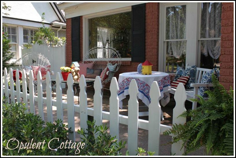 front_porch2 1926 English tudor style cottage home tour