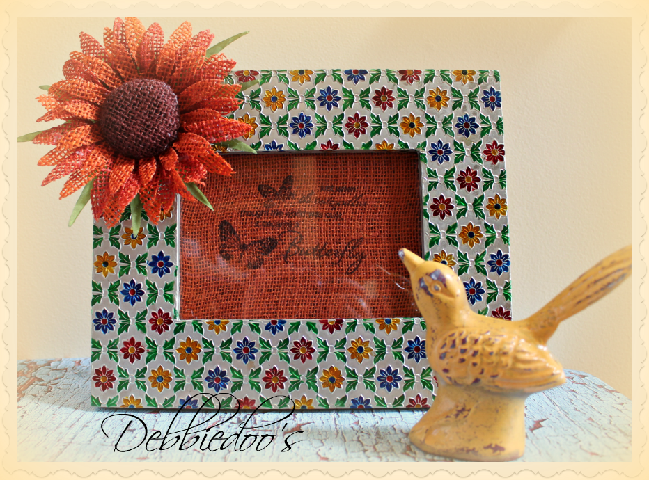 Spring and burlap picture