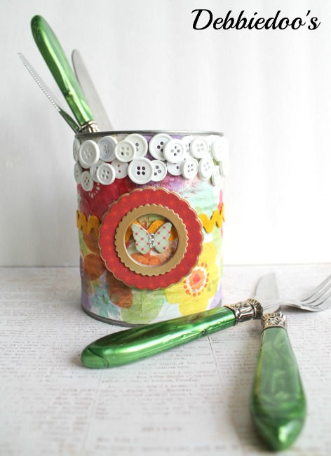 Spring crafting with mod podge