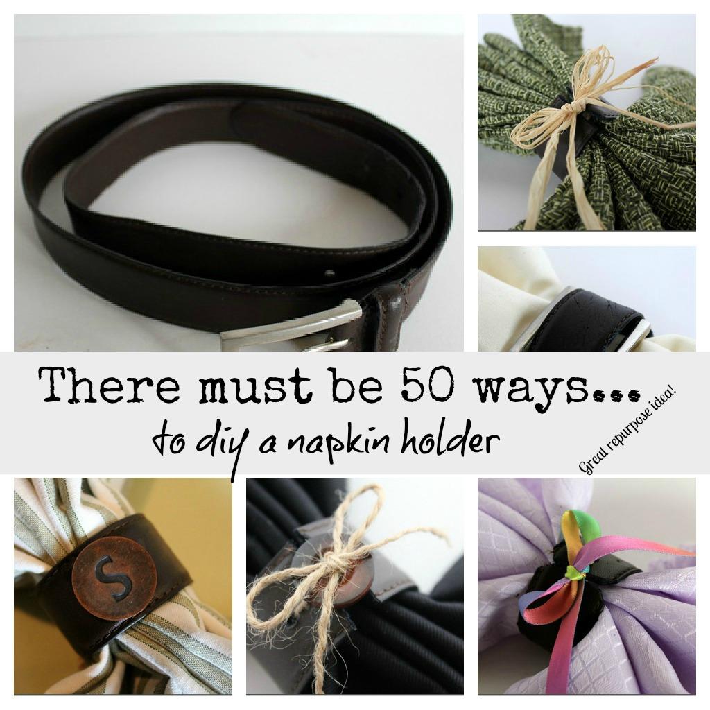 50 Plus Ways To Diy A Napkin Ring. DIY Napkin Rings Using ...