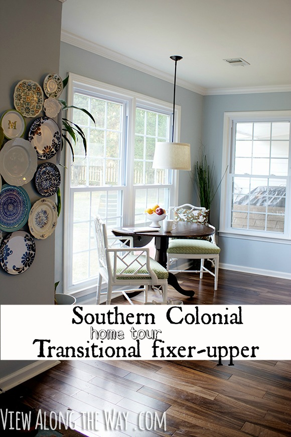 Southern Colonial Transitional Home Tour Fixer Upper